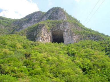 Пещера Мурсьедагос в Нуэво Леоне, Мексика