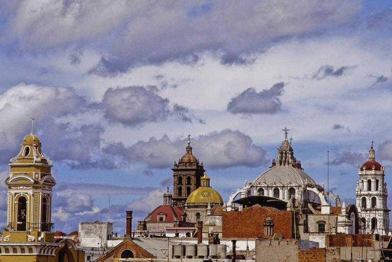 Пуэбла-де-Сарагоса, Мексика. Pueblo de Saragosa, Mexico