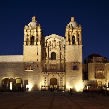 Собор Санто Доминго де Гусман в Оахака. Мексика