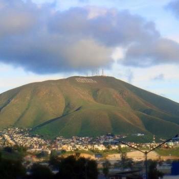 Сьеро Колорадо в Тихуане. Мексика