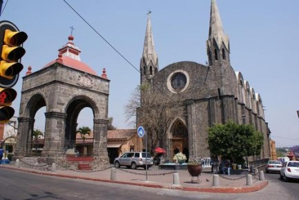 Церковь Иглесиа дель Кальварио, Куэрнавака, Мексика