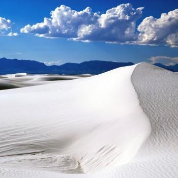Белая пустыня на севере Мексики