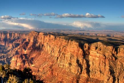 Медный каньон. Вид с высоты птичьего полета