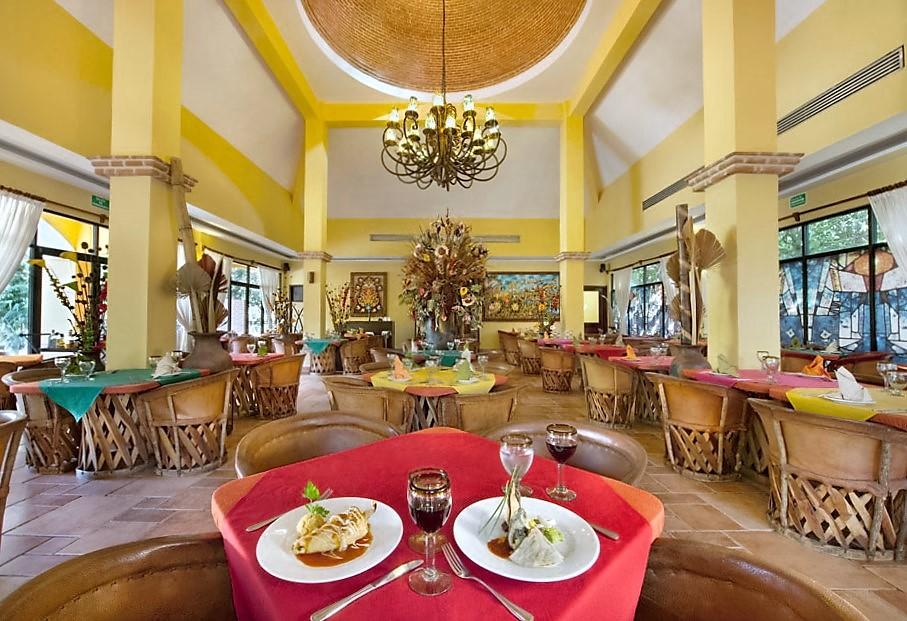 Мексиканская кухня в ресторане Асьенда дон Диего, отель Вива Виндхэм Майя