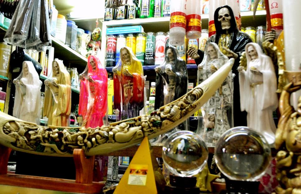 Колдовской рынок Сонора в Мехико сити