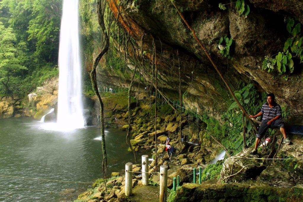 Водопад Мисольха, штат Чиапас