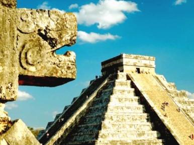 Главная достопримечательность Юкатана - пирамида Чичен-Ица