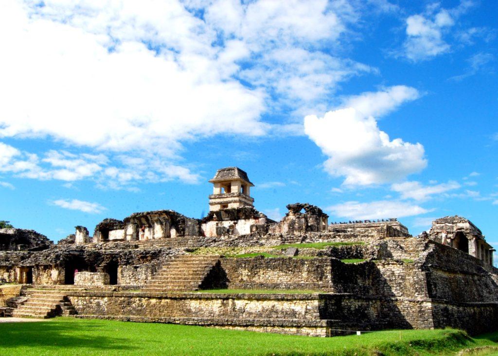 Дворец Правителя цивилизации майя сохранившийся до наших дней. Археологический комплекс Паленке