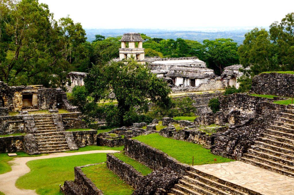 Узнайте все тайны и загадки которые хранит город Паленке, штат Чиапас