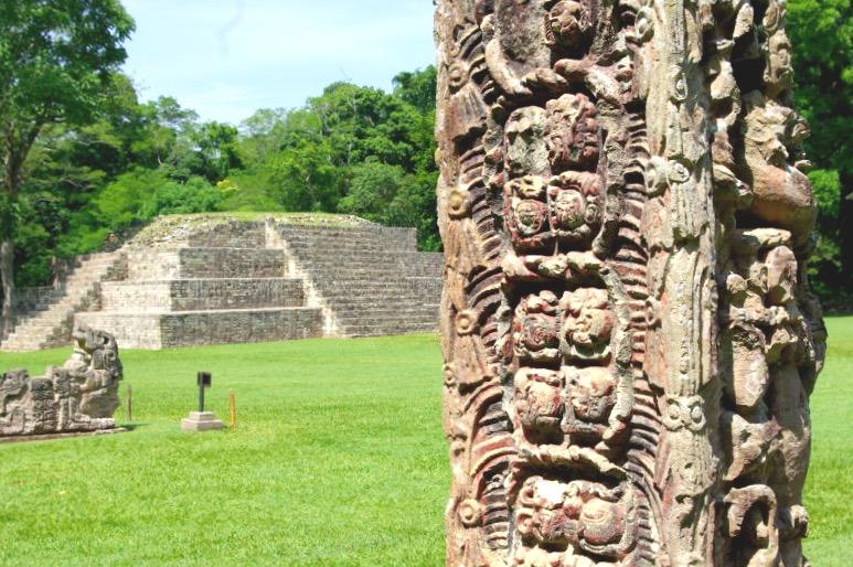 Гондурасские пирамиды в Копане