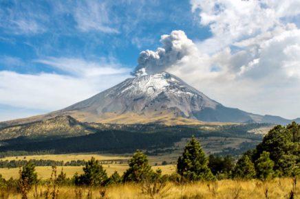 Самый агрессивный вулкан Мексики. Попокатепетль