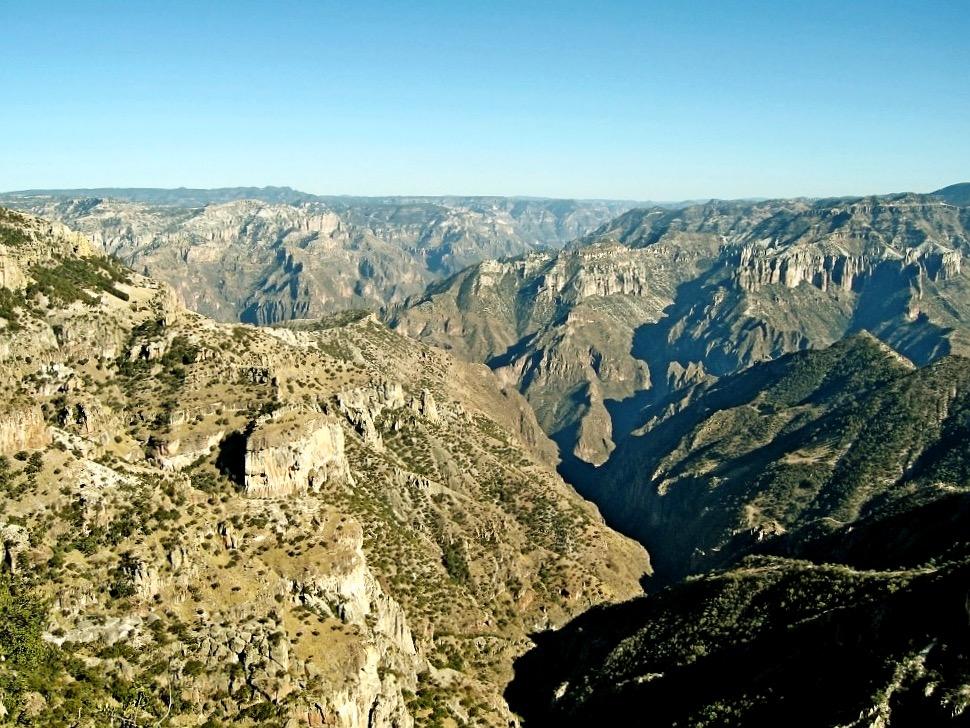 Невероятный Медный Каньон, Мексика
