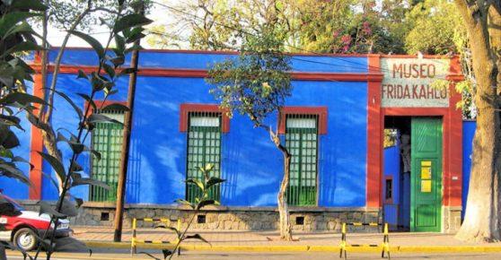 Дом Фриды Кало в Мехико сити