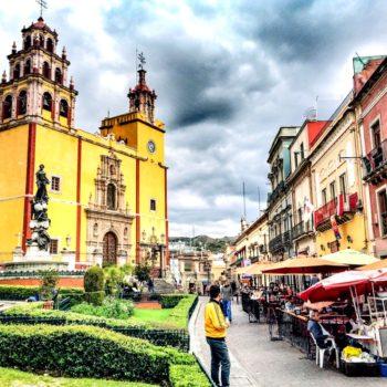 Яркий и колоритный мексиканский город Гуанахуато