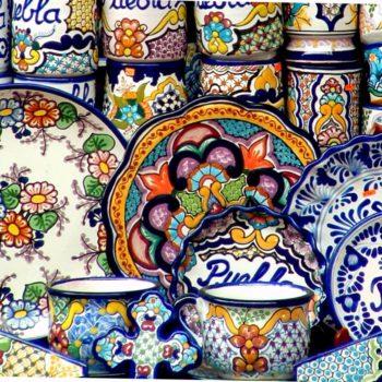 Керамика - главный продукт сувенирной Пуэблы