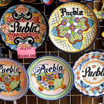 Изделия ручной работы - тарелки Талавера