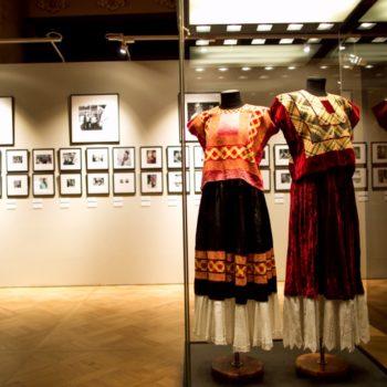 В музее Фриды Кало большое разнообразие ее нарядов