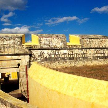 Кампечанский форт был самым укрепленным местом в Мексиканском Заливе в 17 веке