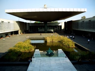 Огромный музей антропологии собрал в своих стенах большое количество экспанатов