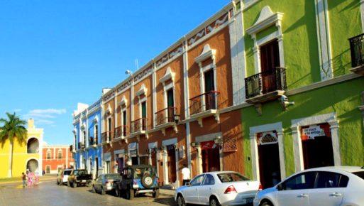 Кампече - яркий мексиканский город