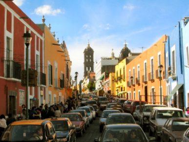 Пуэбла - один из крупных городов Мексики