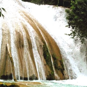 Водопад Мисоль ха и Каскады Азуль