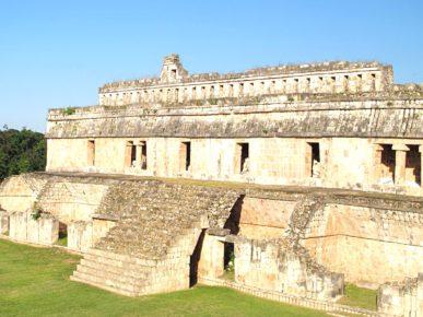 Руины древнего города Кабах находящиеся под защитой ЮНЕСКО. Мексика