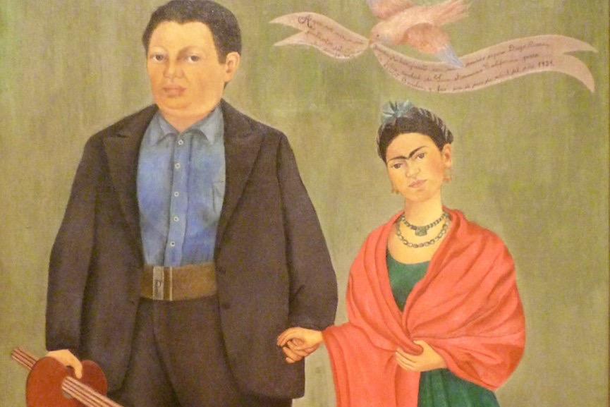 Воссоединение супругов Диего Риверы и Фриды Кало