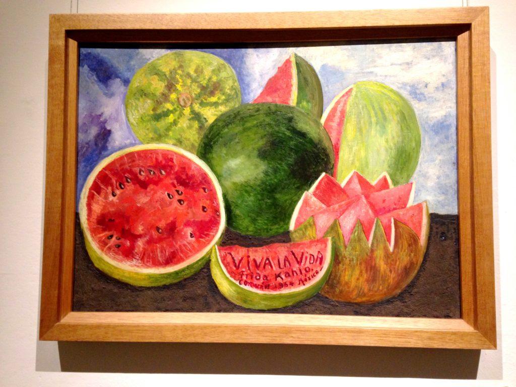 Последняя картина Фриды Кало - Вива ла Вида, Да Здравствует Жизнь.