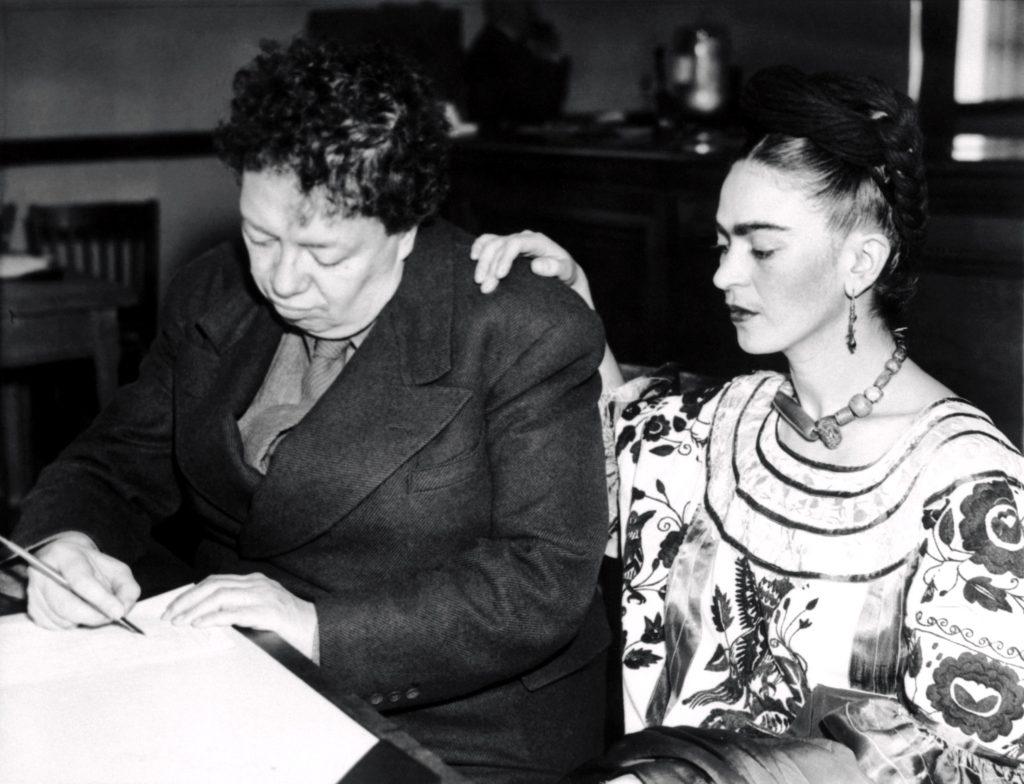 Бракосочетание Фриды Кало и Диего Риверы, Мексика
