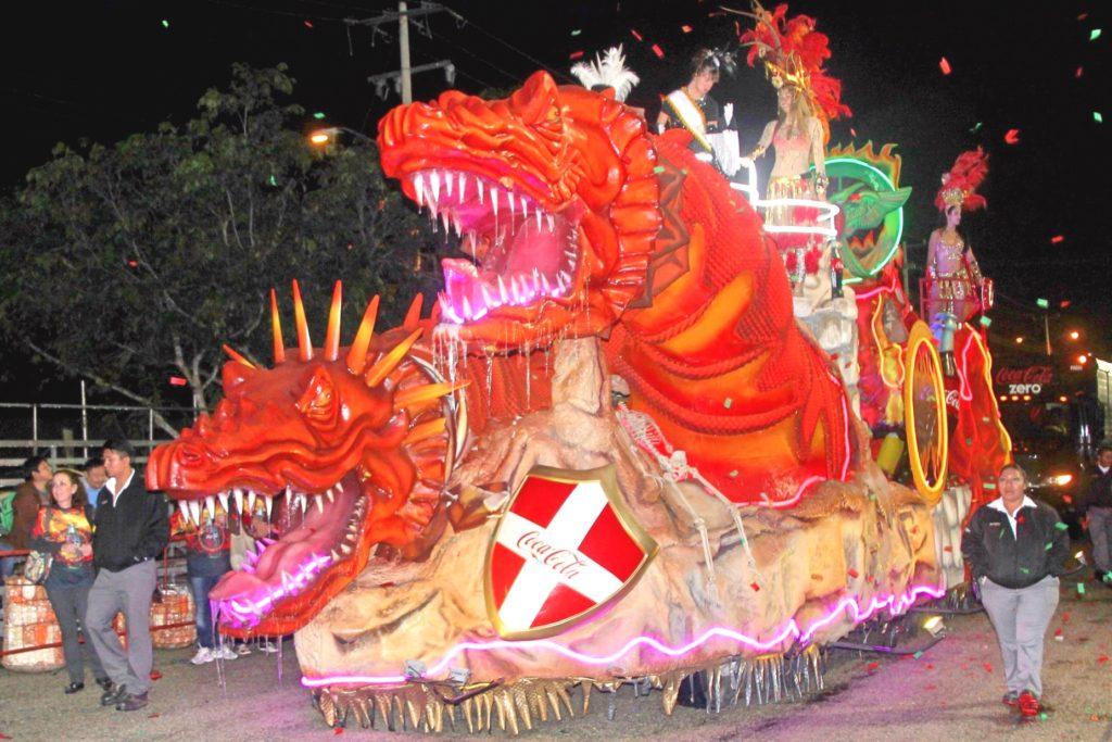 Стилизованные карнавальные платформы, Мерида, Мексика