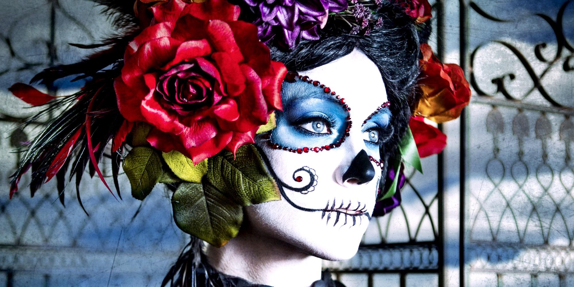 Самый популярный мексиканский праздник День Мертвых, Мексика
