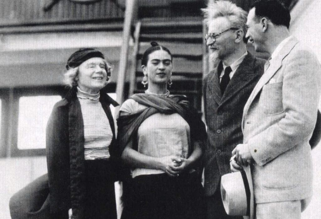 Встреча Льва Троцкого и Фриды Кало, Мексика
