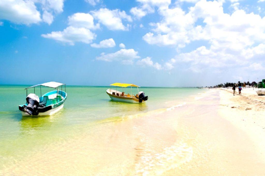 Белоснежные пляжи парка Селестун. Экскурсия по заповеднику Селестун, Мексика
