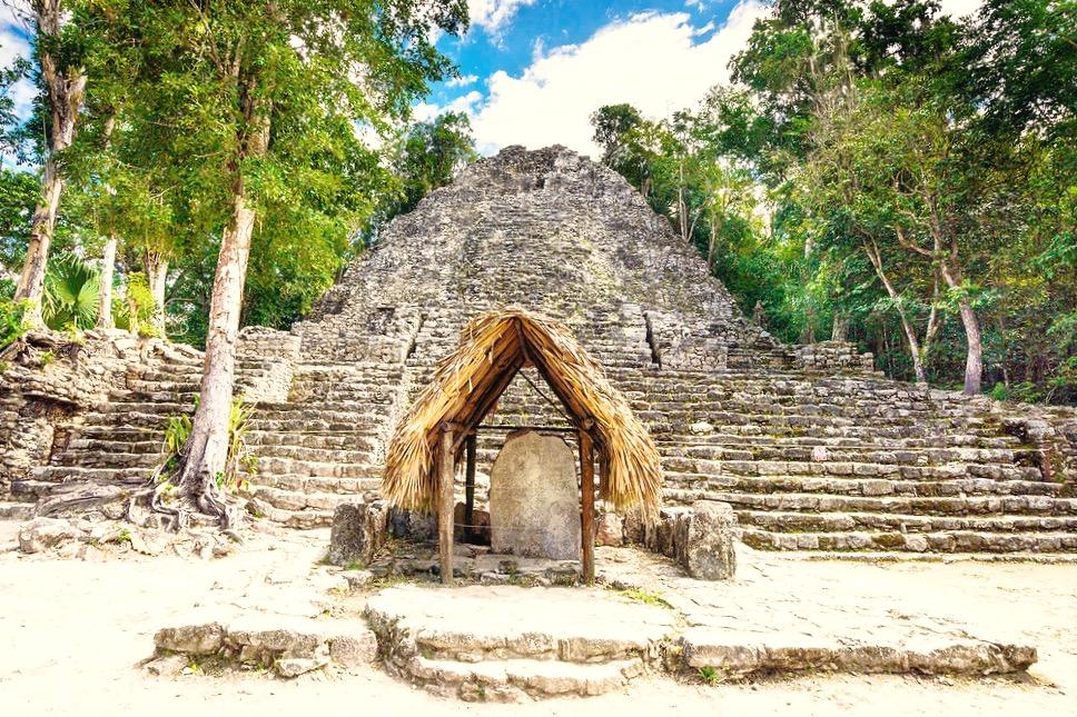 Достопримечательности Мексики. Майяский город Коба