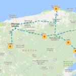 2-дн маршрут по северу Юкатана