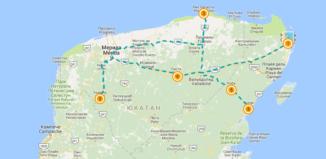 Уникальный маршрут по Юкатану на авто