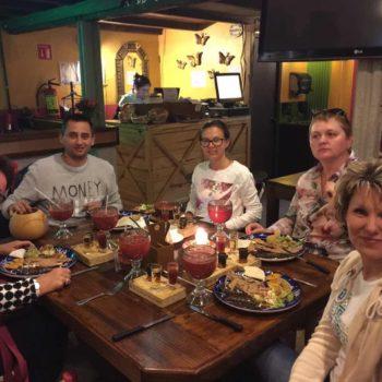 Ресторанчик в г. Пуэбла во время экскурсии по Мексике