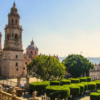 Чудесный город Морелия, Мексика