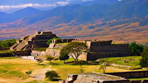 Археологическая зона Монте Альбан, Оахака, Мексика