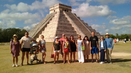Посетить Чичен Ицу в Мексике