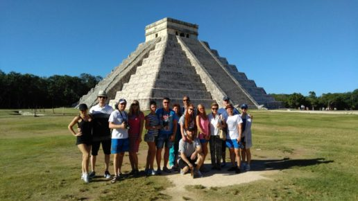 Мексиканские пирамиды в Чмчен Ица