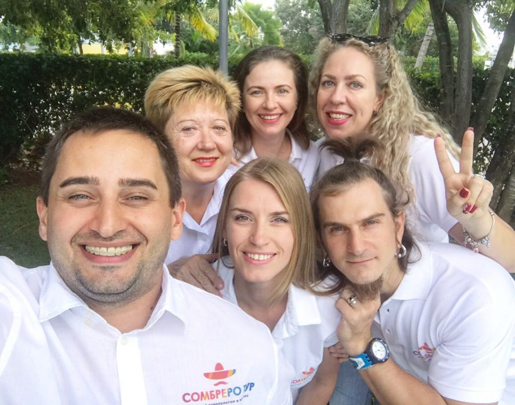 Команда Сомбреро тур в Мексике