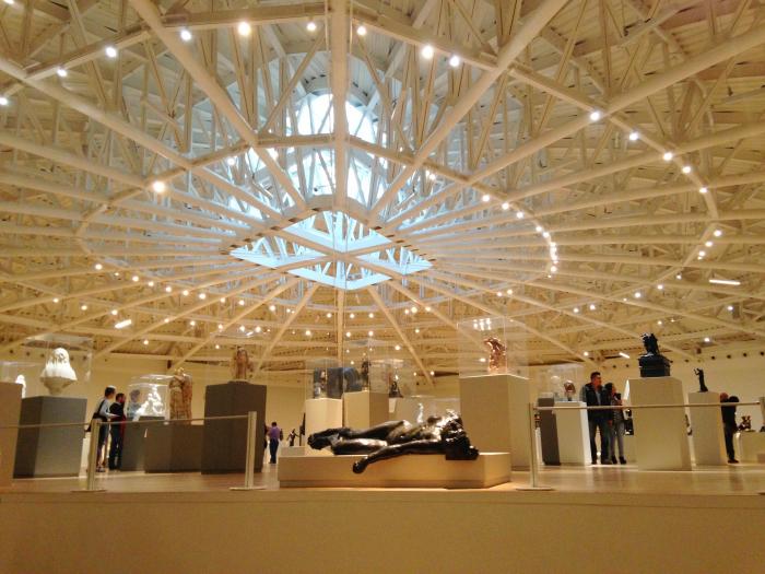 Выставочный зал музея Соумайя