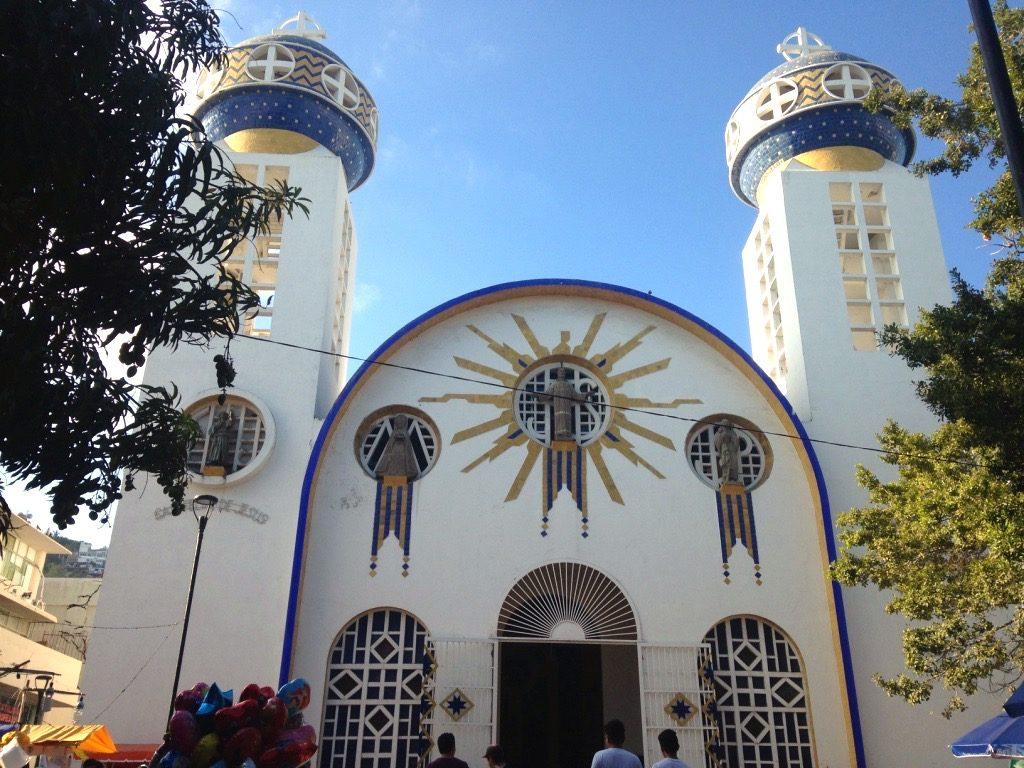 Кафедральный собор в Акапулько