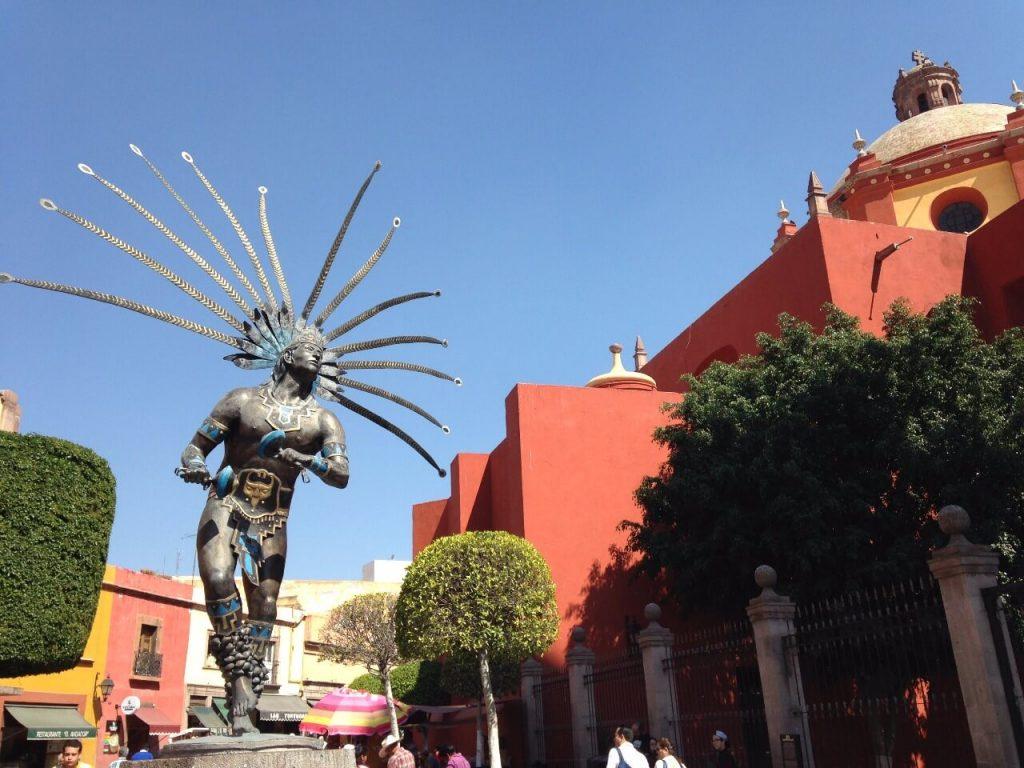 Пешеходная улица 5 Мая, Керетаро