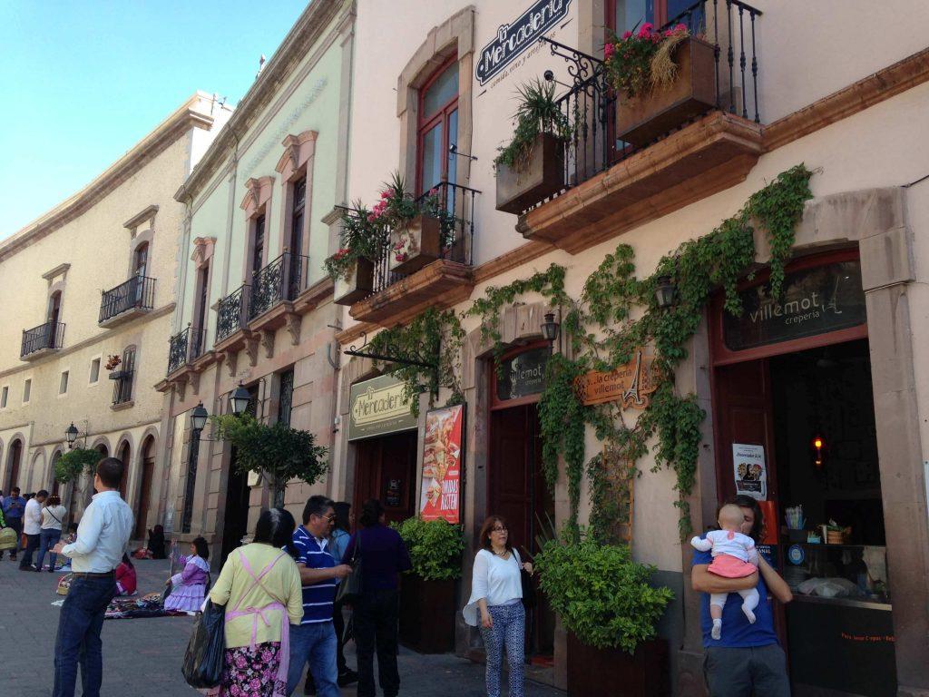Знаменитая туристическая улица 5го Мая, Керетаро