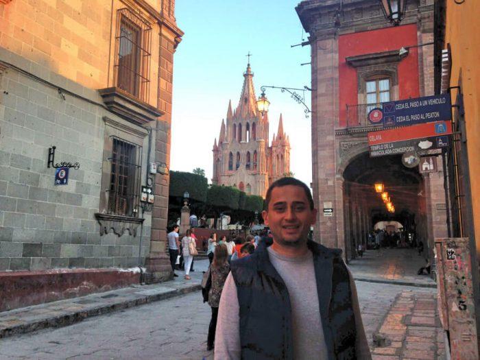 На уютных улицах города Сан-Мигель-де-Альенде