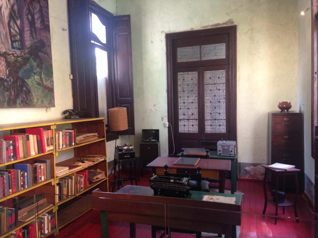 Библиотека в доме Льва Троцкого