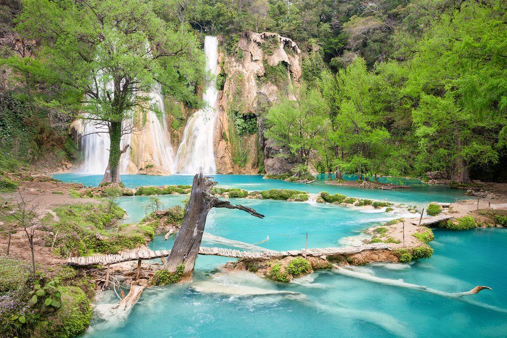 Водопады Минас Въехас в Сан Луис Потоси